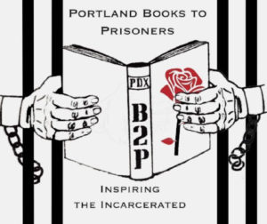 I'm a core volunteer with Portland Books to Prisoners. Find out more about the organization and our nonprofit parent, Education WithOut Borders.